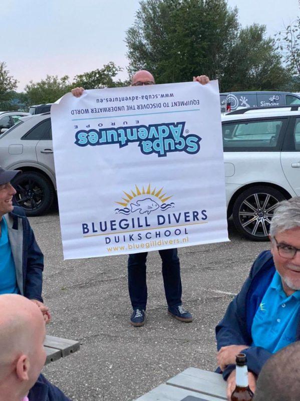 Verjaardag Bluegill divers